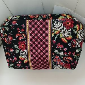 VERA BRADLEY ICONIC LARGE COSMETIC BAG!!!